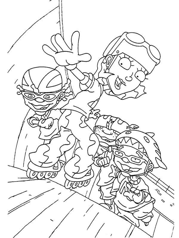 Index of /coloriages/heros - tv/rocket power