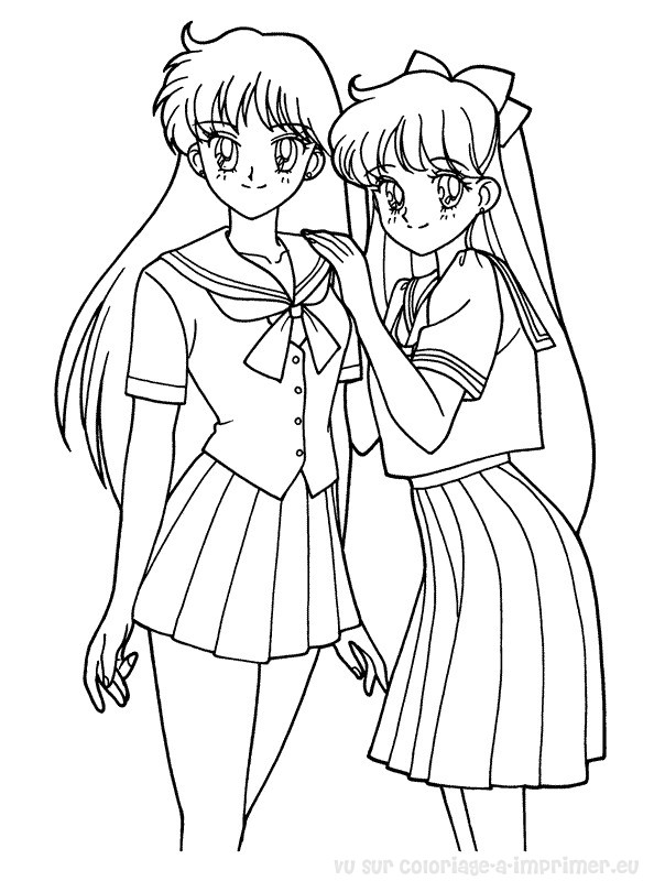 Coloriage A Imprimer Coloriage Sailor Moon 057