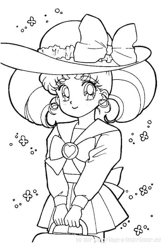 Coloriage A Imprimer Coloriage Sailor Moon 081