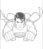 coloriage superman 007