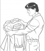coloriage superman 012