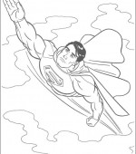 coloriage superman 035