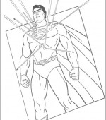 coloriage superman 049