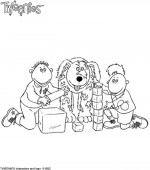 coloriage tweenies 005