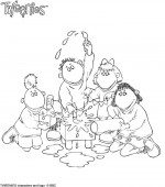 coloriage tweenies 006