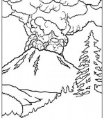 coloriage paysage 001