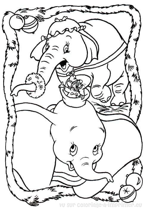 Coloriage à Imprimer Coloriage Noel Disney 001