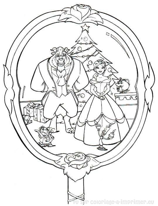 Coloriage à Imprimer Coloriage Noel Disney 004