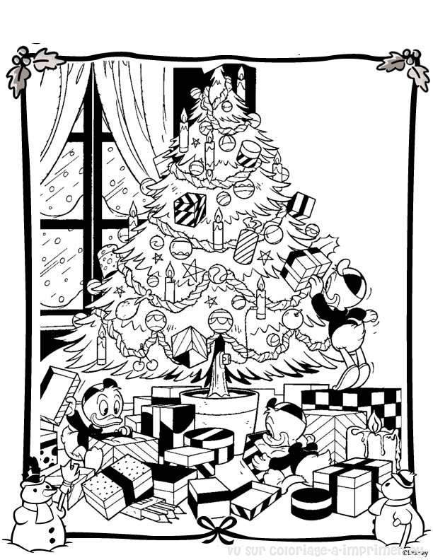 Coloriage A Imprimer Coloriage Noel Disney 008