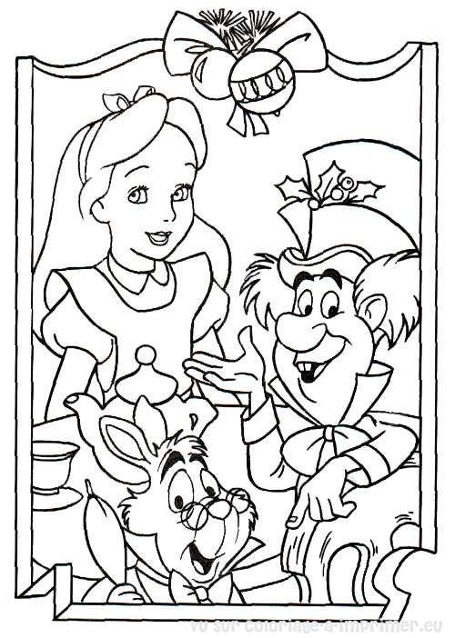 Coloriage à Imprimer Coloriage Noel Disney 011