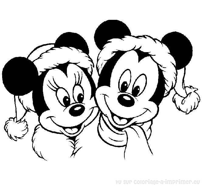 Coloriage à Imprimer Coloriage Noel Disney 047