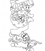 coloriage noel disney 019