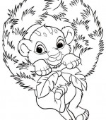 coloriage noel disney 021