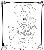 coloriage noel disney 024
