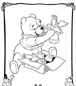 coloriage noel disney 026