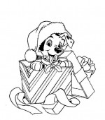 coloriage noel disney 027