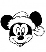 coloriage noel disney 030