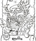 coloriage efteling 002