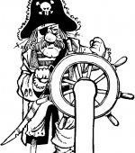 coloriage pirates 009