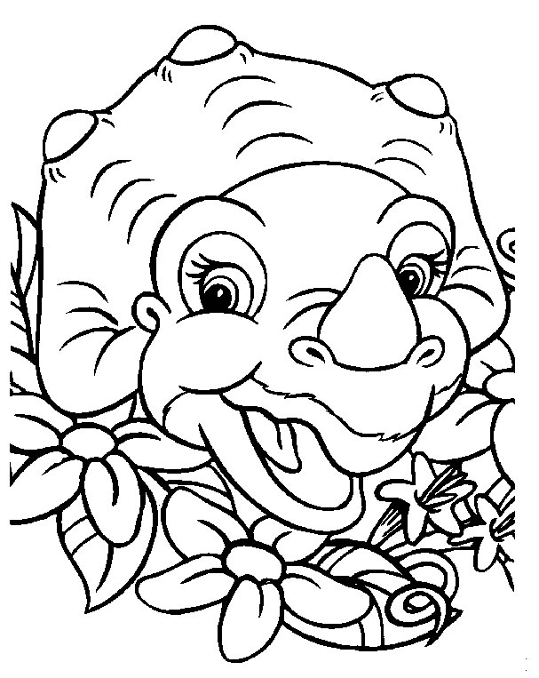 Index Of Coloriages Animaux Bebe Dinosaure