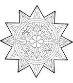 Coloriage Mandala Noel Gratuit A Imprimer