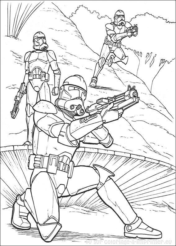 Coloriage A Imprimer Coloriage Star Wars 000