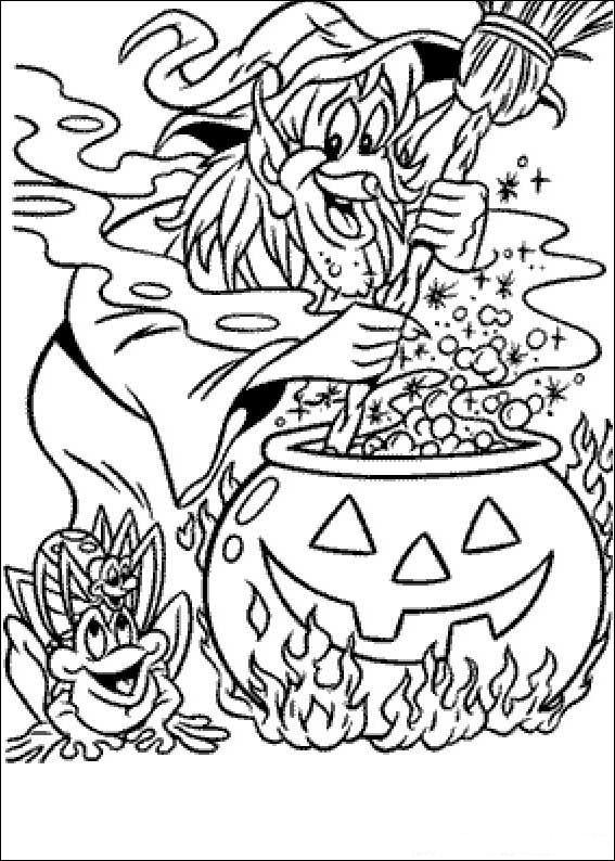 Index Of Coloriages Hallowen Halloween